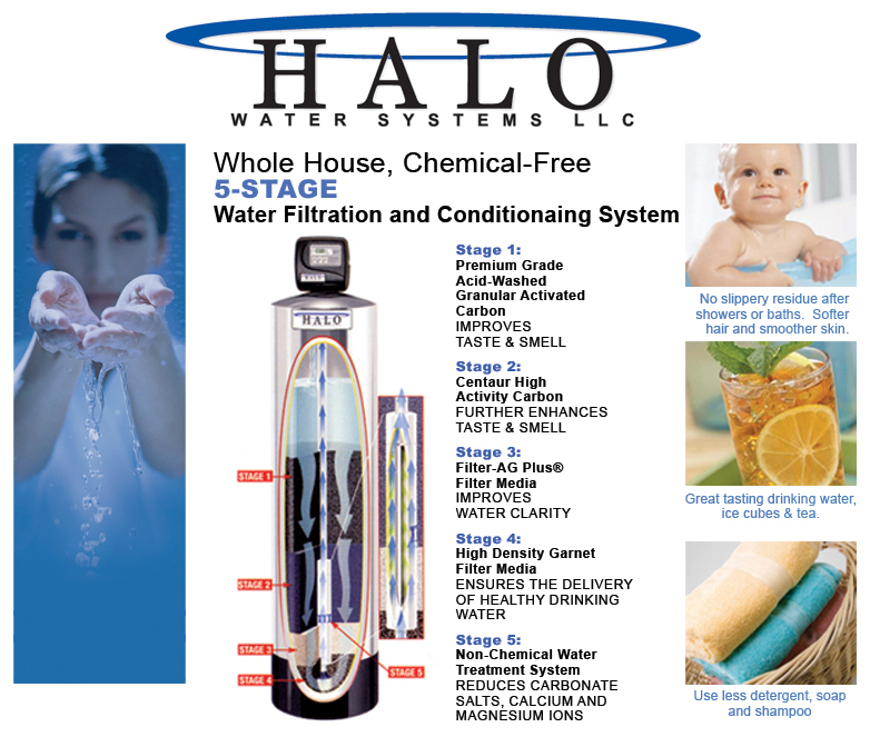halo 5 whole house water filtration conditioning system