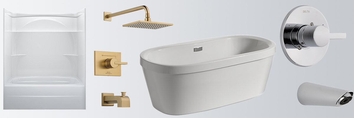 header-showers-tubs - King Rooter & Plumbing