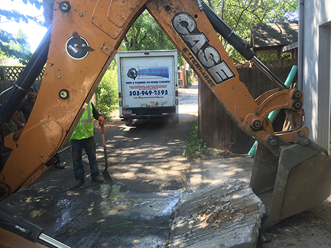 sewer excavation denver
