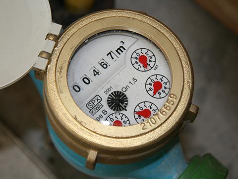 water meter tap hookup