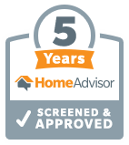 5 years homeadvisor plumber denver
