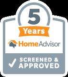 5 years homeadvisor plumber denver