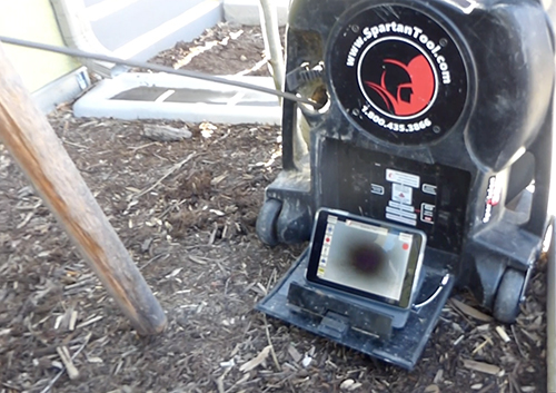 sparvision 200 drain camera inspection