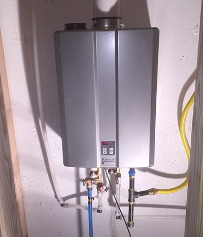 tankless water heater denver co