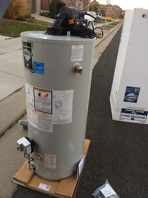 water heater installation denver