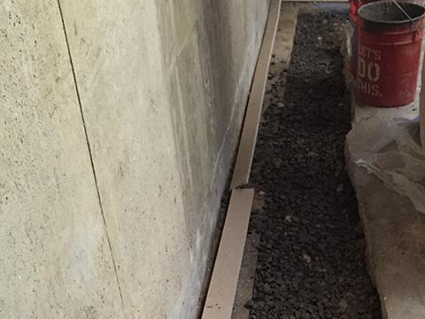 french drain installation denver