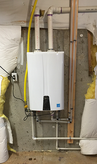 Navien Tankless Water Heater