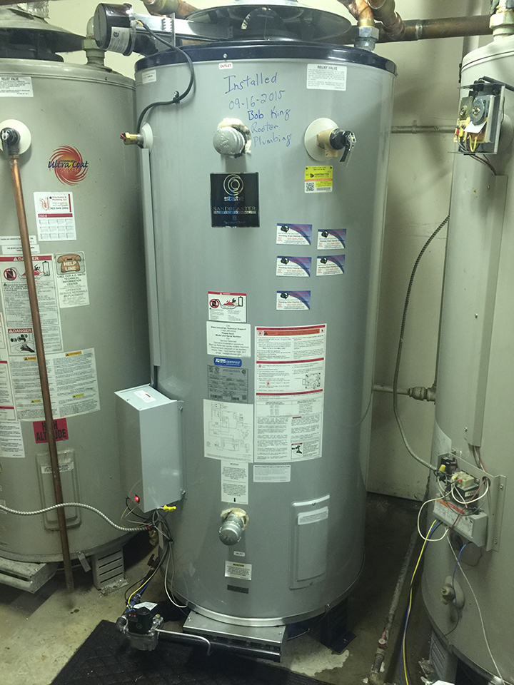 bradford white commercial water heater denver