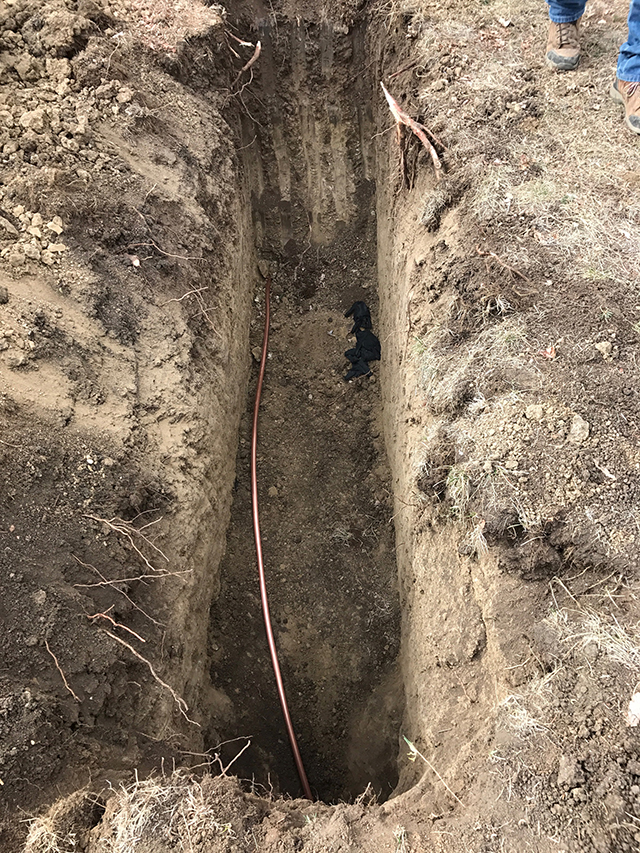water line replacement denver