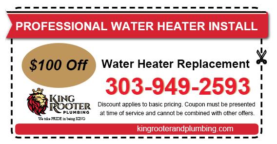 water heater installation denver